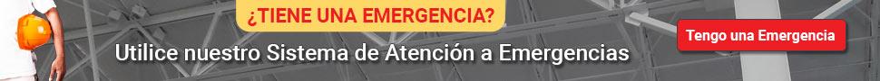 Utilice nuestro sistema de Atención a Emergencias Roofmaster.